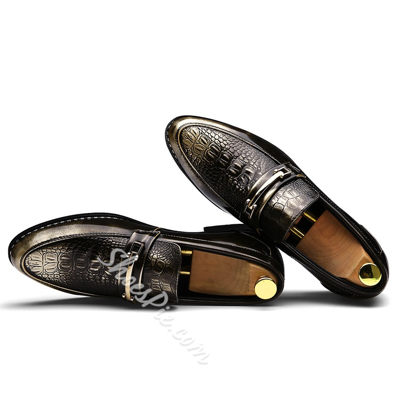 Shoespie Sequin Slip-On Professional Oxfords