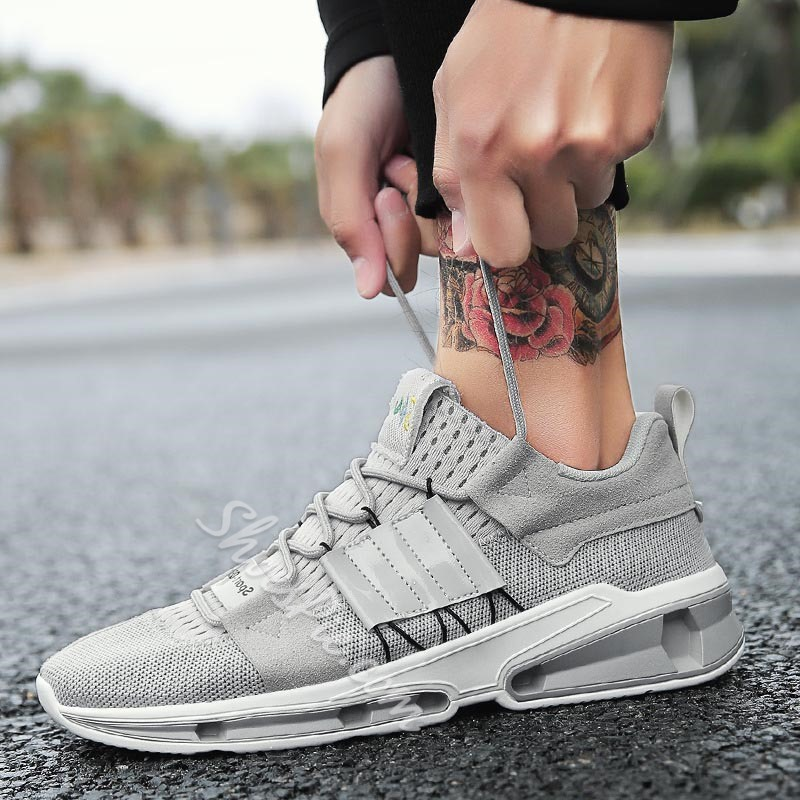 Shoespie Summer Low-Cut Upper Lace-Up Sneakers
