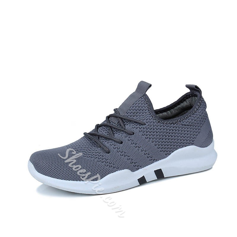 Shoespie Casual Lace-Up Round Toe Athletic Shoes