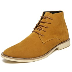 Casual Suede Lace-Up Men's Oxfords