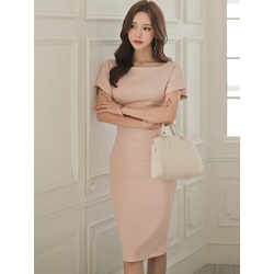 Shoespie Pencil Pullover Patchwork Women's Bodycon Dress