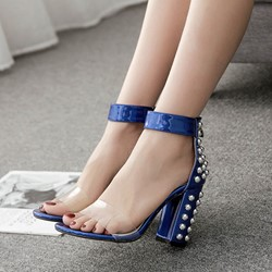 Rivet Jelly High Heel Dress Sandals