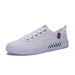Comfortable Cloth Round Toe Athletic Shoes