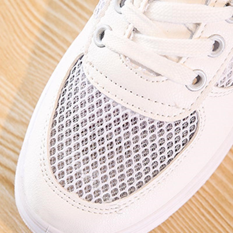 Shoespie Low-Cut Upper Comfortable Lace-Up Sneaker
