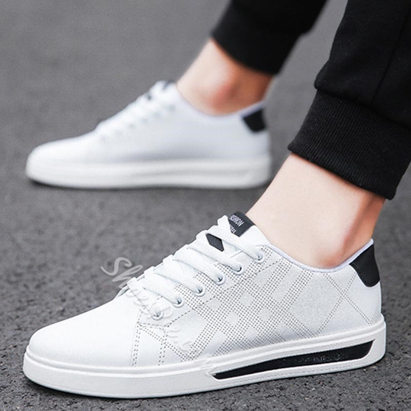 Shoespie Mesh Low-Cut Upper Casual Sneakers