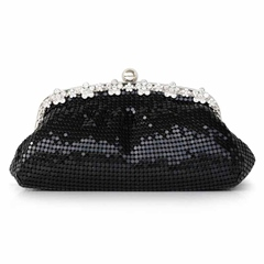 Shoespie Sequins Chain Small Evening Bag