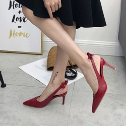 Shoespie Slingback Strap Stilettos High Heels
