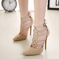 Shoespie Pointed Toe High Heel Stilettos