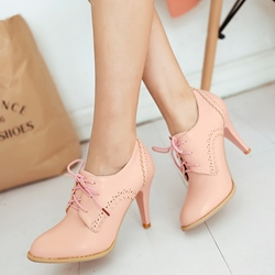 Shoespie Round Toe Casual Lace-Up Women's Boots