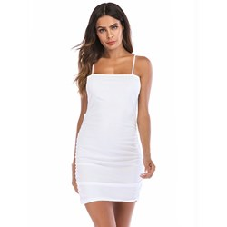 Shoespie Sleeveless Plain Women's Bodycon Dress