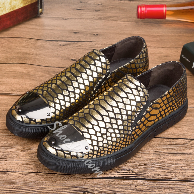 Shoespie Sequin Casual Slip-On Men's Sneakers