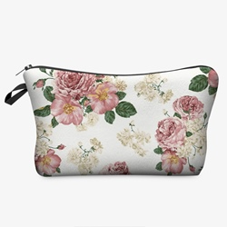 Shoespie Floral Women Cosmetic Bag