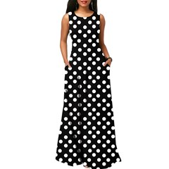 Shoespie Lace-Up Hollow Elegant Women's Maxi Dress