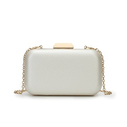 Shoespie Plain Hasp Chain Women Clutch
