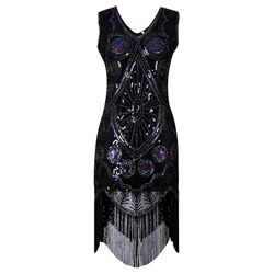 Shoespie Elegant Pullover Tassel Women's Bodycon Dress