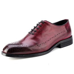 Shoespie Brush Off Professional Men's Oxfords