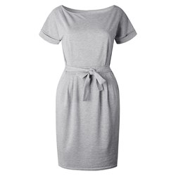Shoespie Belt Bowknot Plain Women's Bodycon Dress