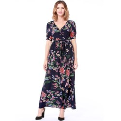 Shoespie Floral Belt Print Women's A-Line Dress