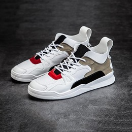 Shoespie Patchwork Color Block Athletic Shoes