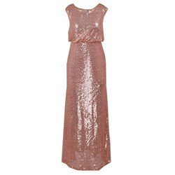 Shoespie Backless Sequins Elegant Women's A-Line Dress