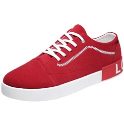 Shoespie Thread Lace-Up Athletic Shoes