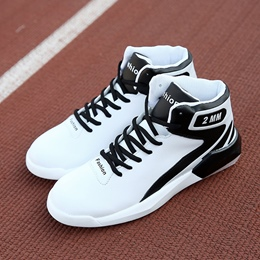 Shoespie Round Toe Lace-Up Mesh Athletic Shoes