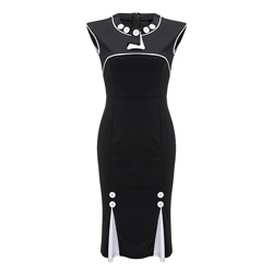 Shoespie Pullover Round Neck Women's Bodycon Dress