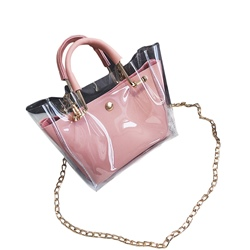 Shoespie 2018 Summer New Stylish Transparent Beach Bag