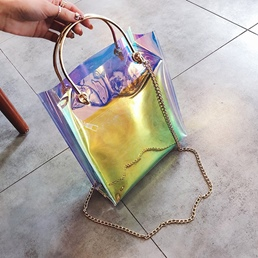Shoespie Summer PVC Vintage Women Tote Bag