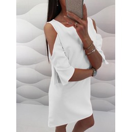 Shoespie Round Neck Pullover Fall Women's Bodycon Dress