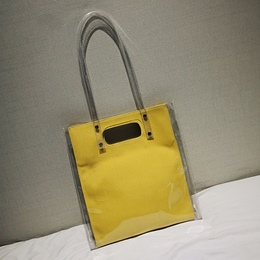 Shoespie Korean Style Simple Transparent Jelly Bag