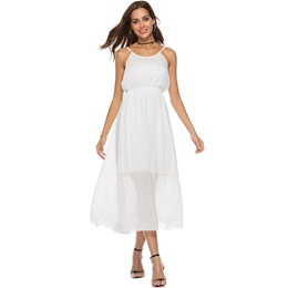 Shoespie Sleeveless Pullover Women's Maxi Dress