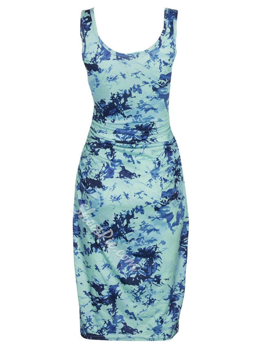Shoespie Single Print Plain Women's Bodycon Dress