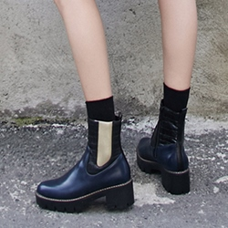 Shoespie Side Zipper Casual Chelsea Boots