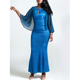 Shoespie Mermaid Elegant Bead Women's Maxi Dress