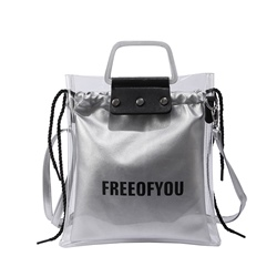 Shoespie Summer Korean Style PVC Jelly Tote Bag