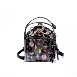 Shoespie Dazzling PVC Beach Travel Backpack