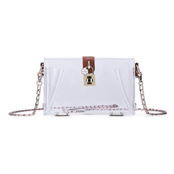 Shoespie Modern Style Transparent Acrylic Small Bag