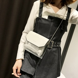 Shoespie PVC Plain Women Mini Crossbody Bag