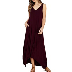 Shoespie Pullover Plain Women's Casual Maxi Dress