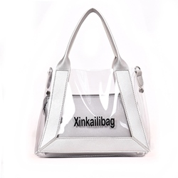 Shoespie PVC Letter Soft Tote Bag