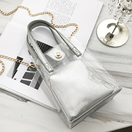 Shoespie Korean Style Jelly Erect Tote Bag