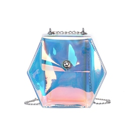 Shoespie Dazzling transparent PVC Jelly Bag