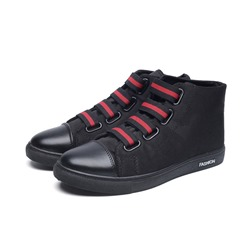 Canvas Casual High Upper Men's Sneakers