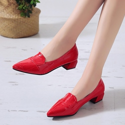 Shoespie Pointed Toe Casual Low Heels
