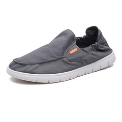 Shoespie Round Toe Slip-On Loafers For Men