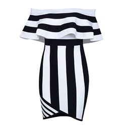 Shoespie Single Color Block Women's Bodycon Dress
