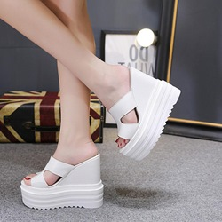 Casual Platform Flip Flop Wedge Sandals
