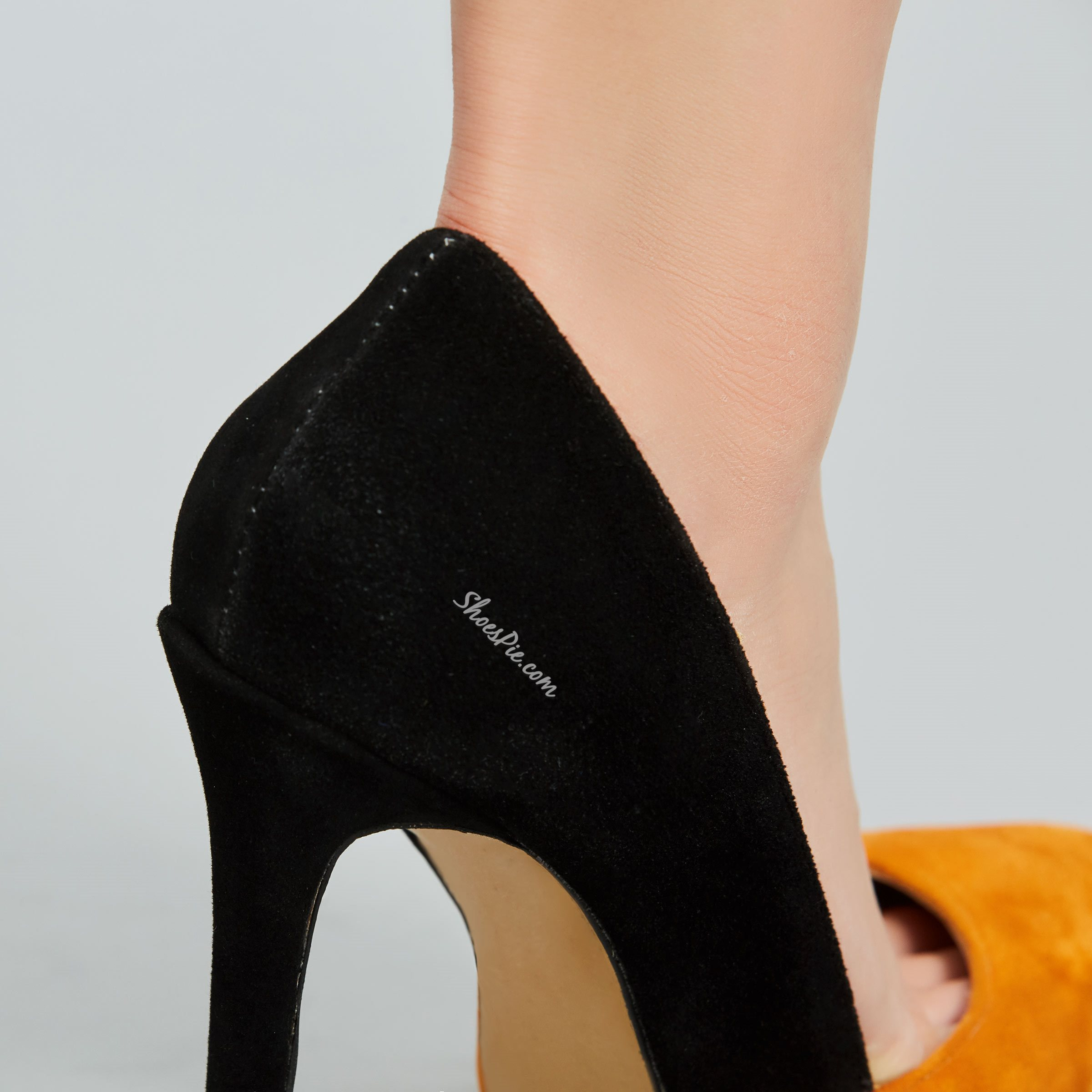 Pretty Women Contrast Color Pointed-toe Heels