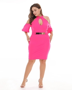 Shoespie Pullover Women's Knee-Length Bodycon Dress